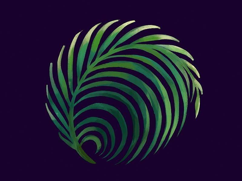 Palm dribbble