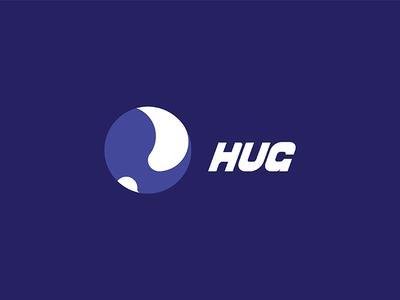 Hug Logo Design 06 web illustration vector ux ui typography logo design logo brading art