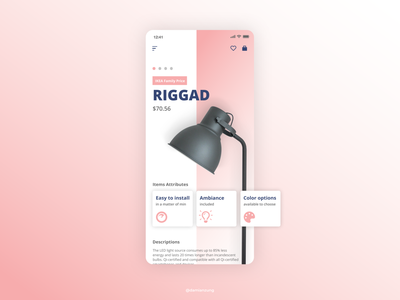 Productober 2019 - Day 3 - LAMP web design websites app design design ux ui graphic design art