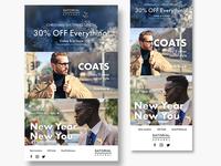 Clothing Brand Newsletter