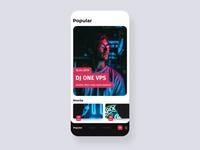 Event application concept