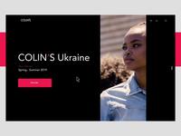 COLIN'S Ukraine - navigation sidebar