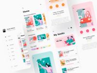 Booksapp concept