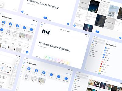 ScanHub - for iPadOS edit documemts ios figma design app