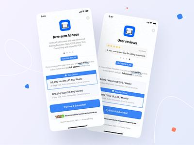 ScanHub - Subscription Part 2 app figma ui design ios offer subscription