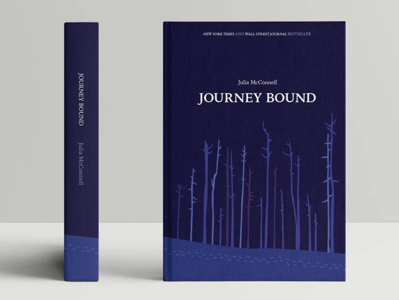 Book Design book typography journey forest illustration book cover book design packaging print design graphic design