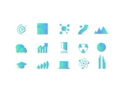 Gradient Icon Set