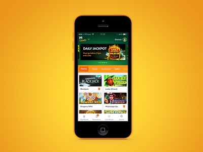 Paddy Power eGaming mobile app games game