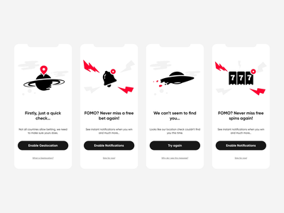 On-boarding Illustrations - Light or Dark? aep ux ui mobile interface onboarding ui onboarding design vector illustrations app lottie lottiefiles