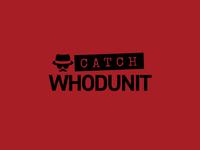 Catch Whodunit Logo Concept