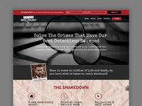 Catch Whodunit Web Design