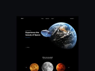 Space – UI/UX
