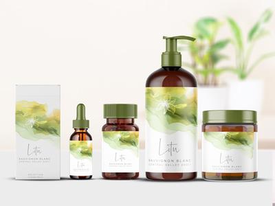 Green Litu Branding Mock Up