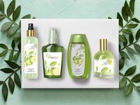 Mint Oil Branding Mock Up