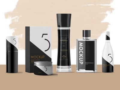 Premium Perfume Branding Mock Up