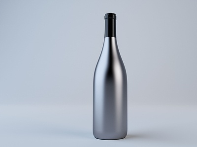 Metal Bottle Model