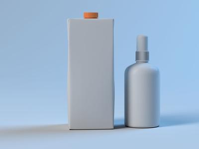 Real Juice Bottle Model