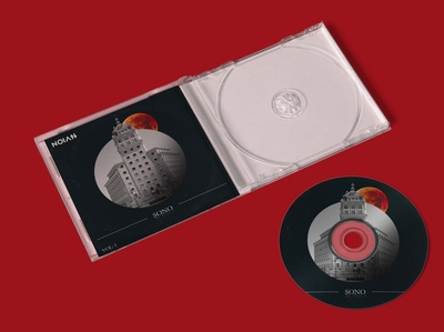 Free Plastic CD Cover Mockup