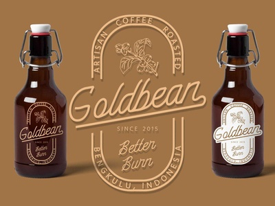 Goldbean - Coffee Logo Concept