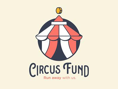 Circus Fund banklogo bank circuslogo circus logotype logos logo mark logo design logo minimal hayhaily hay design branding