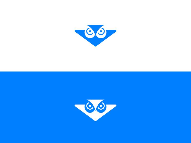 Owl logodesign logos owl logo binocular plane paperplane owl minimalism minimal branding logo design logomark logo