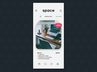 SPACE - App UI Concept