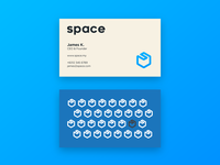 SPACE - Card mockup