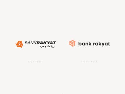 Bank Rakyat - Logo Redesign Concept