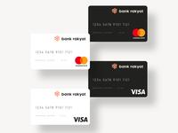 Bank Rakyat - Credit Card Design