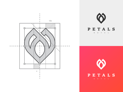 Petals Hotel - Logo Construction