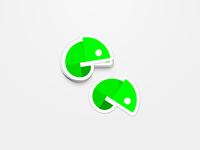 Chame - Sticker Design