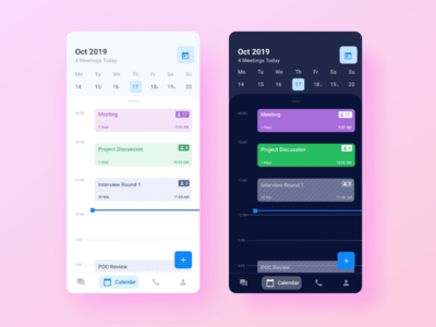 Enterprise Calendar Mobile App
