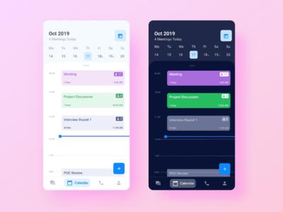 Enterprise Calendar Mobile App