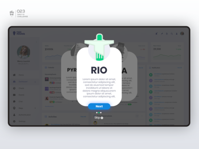 Onboarding | Daily UI Challenge 023