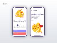 Calendar | Daily UI Challenge 038