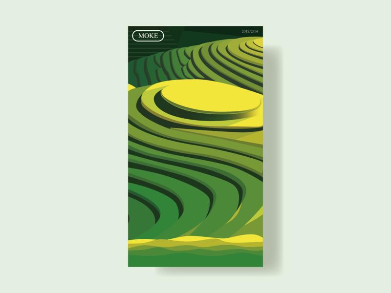 Alpine terraces 设计 插图