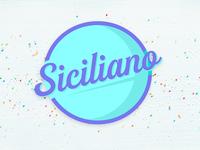 Siciliano - Branding