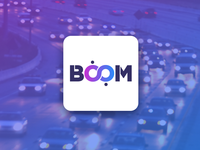 Boom Taxi Service - Logo Design