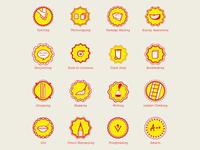 826 Valencia Intern Badges