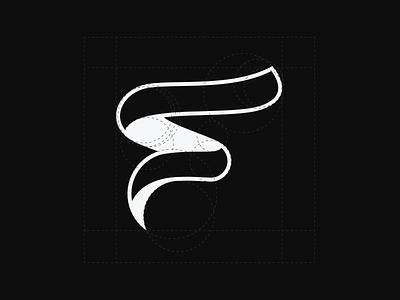 Flow Logo letter f letter logo f vector design branding logo logo design