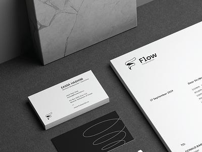 Flow - Branding logo design ui logo branding