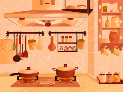 Warm Kitchen