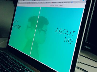Personal Website personal portfolio website designer vancouver