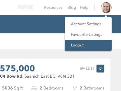 Realtii Settings real estate listings modals settings realtii
