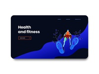 health and fitness web screen