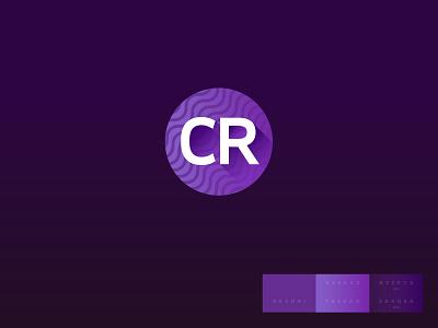 CR app logo visual design identidade visual mobile app logo mobile app app icon brand identity identity app logo