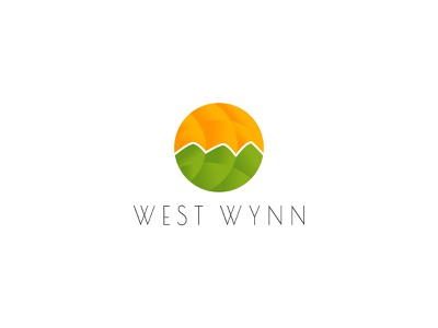West Wynn - Resort branding theme nature minimalist simple logo branding and identity brand identity logodesign logo branding design branding resort