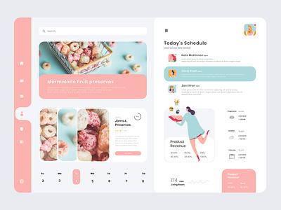 Food web page fruits color website service web online shop typography design photoshop cc ux ui