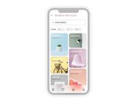 Blog Mobile Application Design