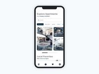 Apartment Rental Mobile Application Design